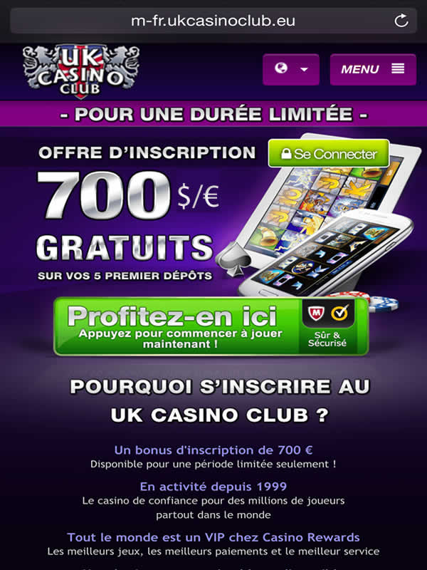 UK Casino Club sur Android sur Android