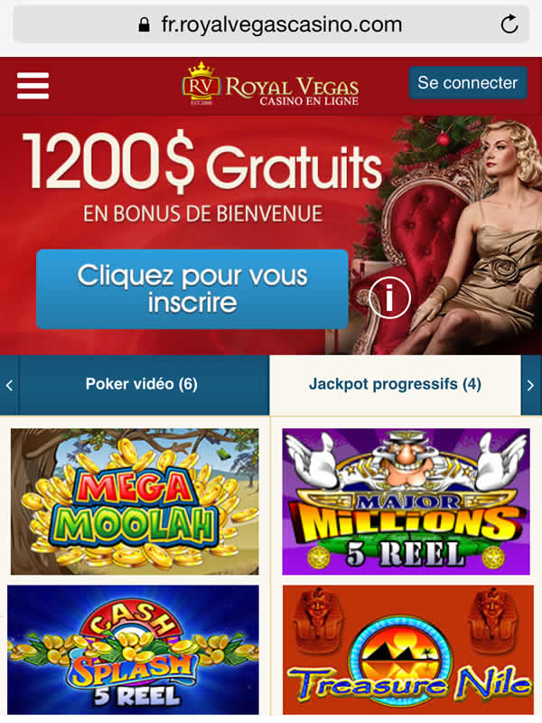 Royal Vegas Casino sur Android