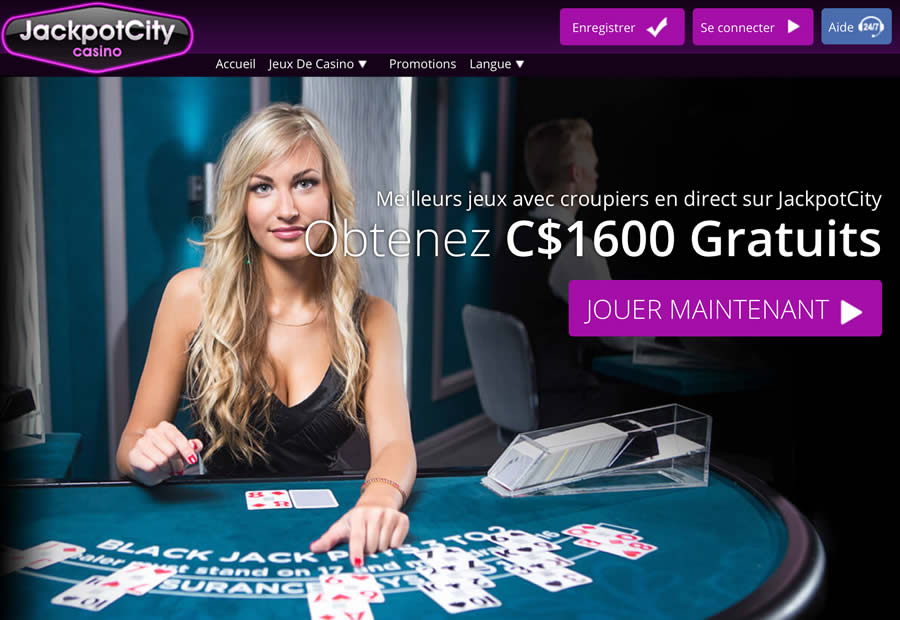 Casino Live - Blackjack et Roulette