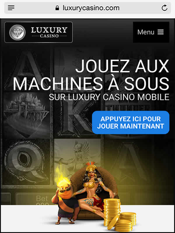 Luxury Casino sur iPhone et iPad