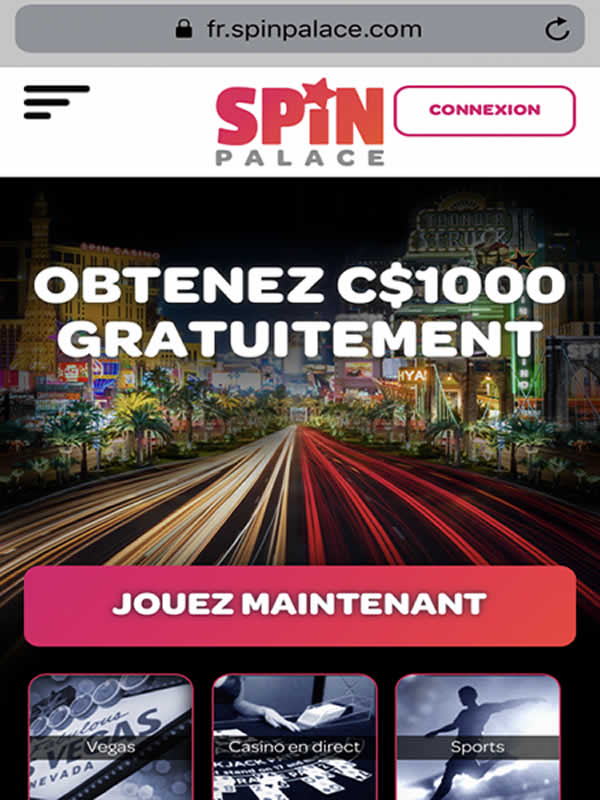 Spin Palace Casino sur iPhone et iPad