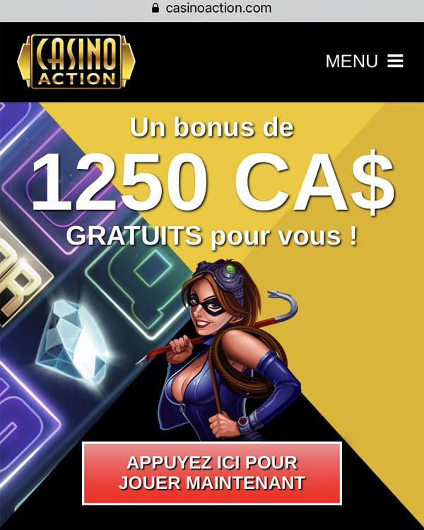 Casino Action sur Android